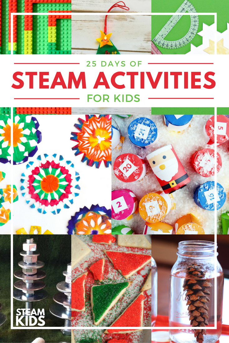 STEAM Kids Christmas Activity Countdown | Inspiration Laboratories