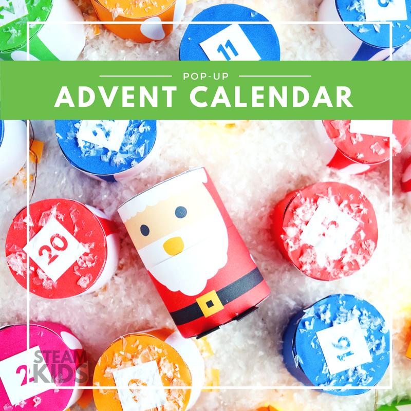 STEAM Kids Christmas Pop Up Advent Calendar