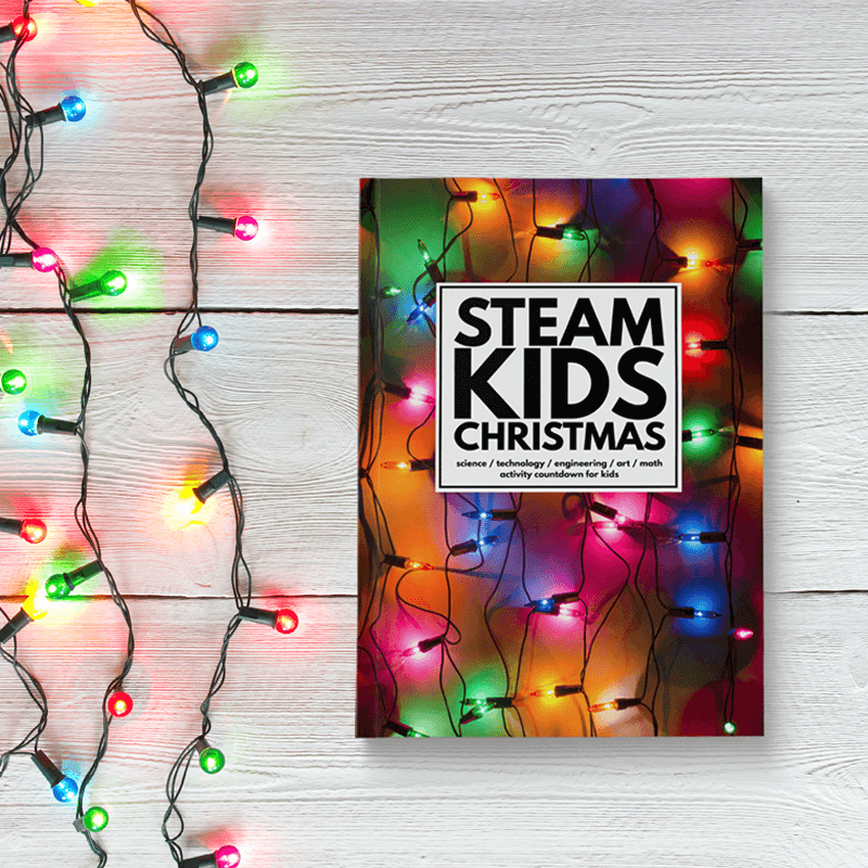 STEAM Kids Christmas Cover with Lights