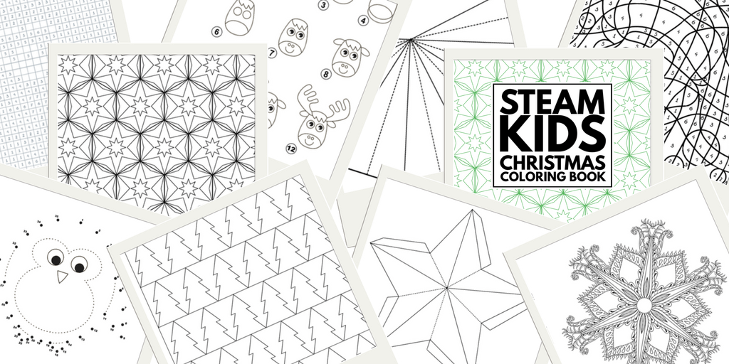 25 Pages of STEAM Packed Coloring Activities