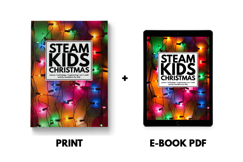 STEAM Kids Christmas Book Formats