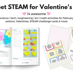 Sweet STEAM for Valentine's Day