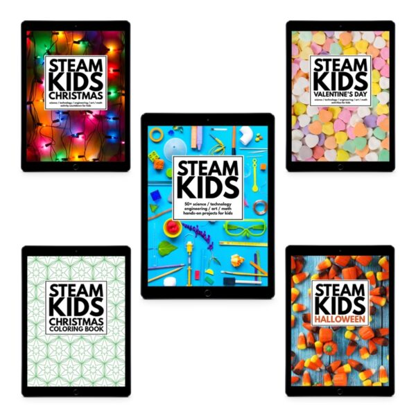 STEAM Kids Book Bundle - SK - XMAS - VDAY - HALL - COLOR