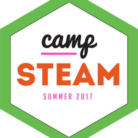 Green Camp STEAM logo 500