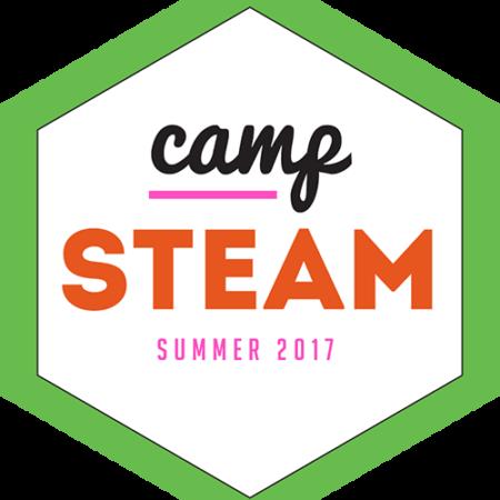 Green Camp STEAM logo 500