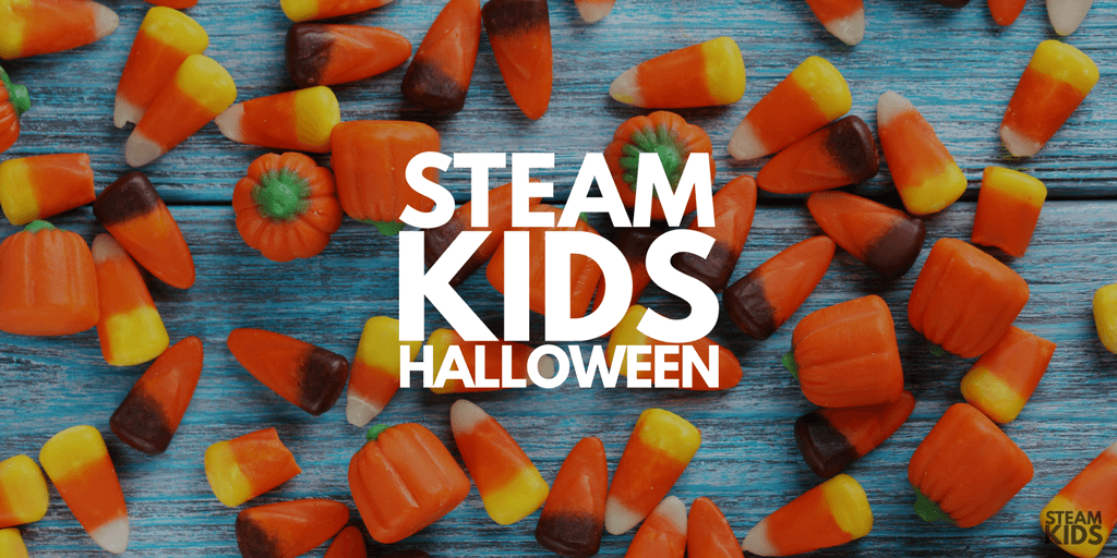 Spooky, Halloween STEAM for kids that will make this holiday exciting. Science, tech, engineering, art, and math projects made fun.