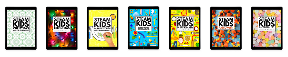 STEAM Kids All Ebooks 1000x200