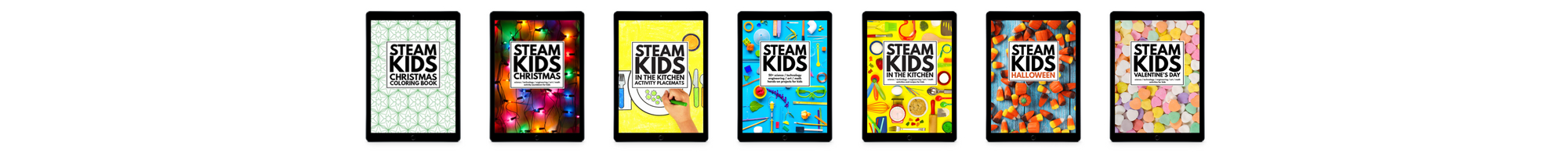 STEAM Kids All Ebooks 2000x200