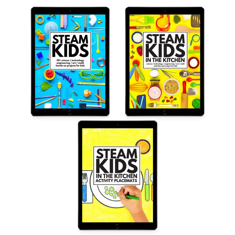 Steam Kids In The Kitchen Ebook Bundle