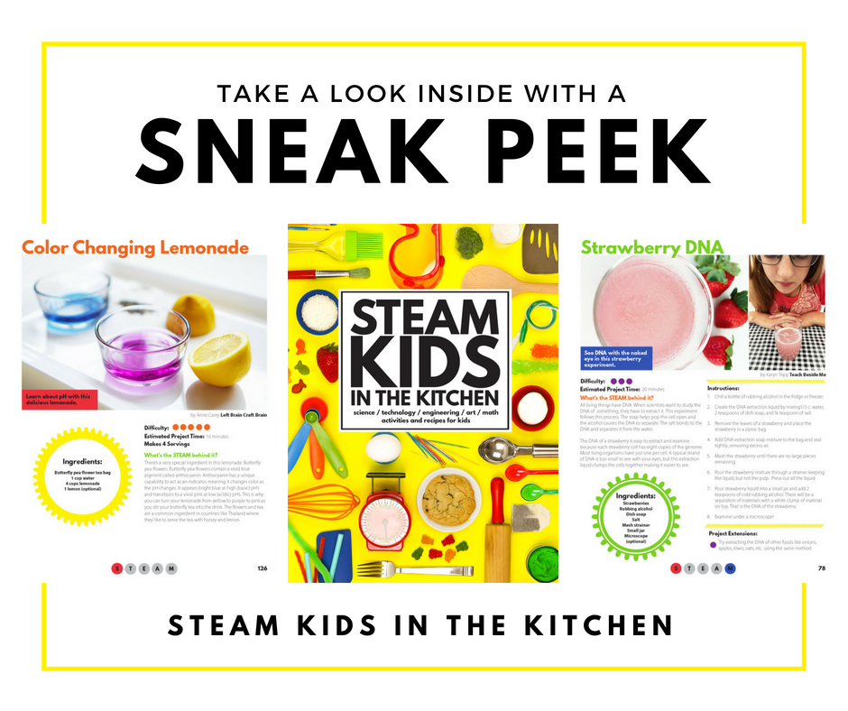 STEAM Kids in the Kitchen Sneak Peek