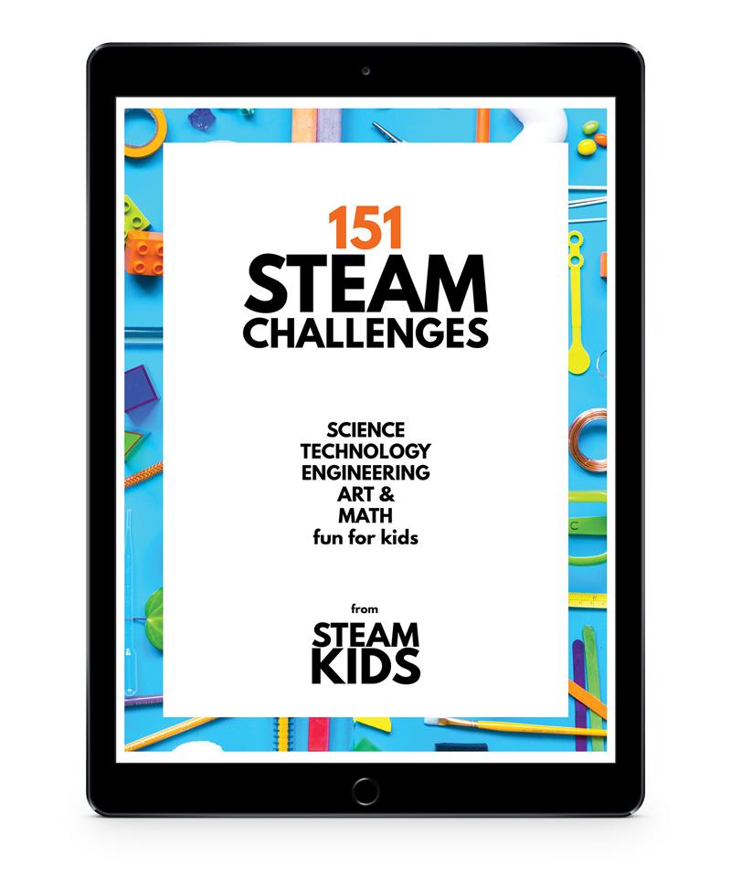 151 Steam Challenge Cards Ebook