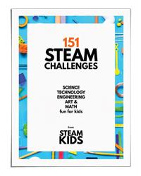 151 STEAM Challenges for Kids (STEAM Kids Books)