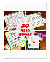 20 Math Games for K-2