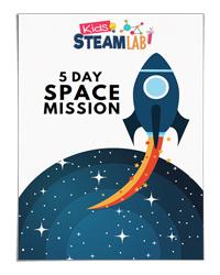 5 Day Space Mission (Kids STEAM Lab)