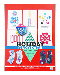 Holiday-Card-Pack---Babble-Dabble-Do-200x250