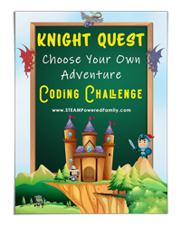 Knight-Quest-Choose-Your-Own-Adventure-Coding-Challenge---STEAM-Powered-Family