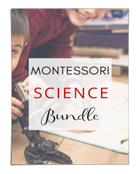 Montessori Science Bundle (Carrots are Orange)