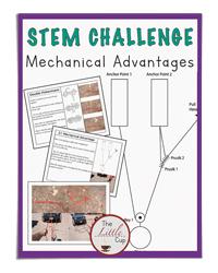 Mechanical Advantages STEM Challenges (The Little Cup)