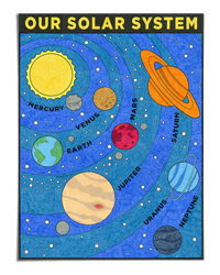 Solar System Mural (Art Projects for Kids)