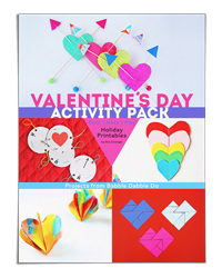 Valentine's Day Activity Pack (Babble Dabble Do)