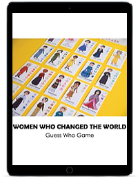 Amazing Women in History Guess Who Game ipad