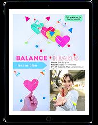 Balance Hearts ipad
