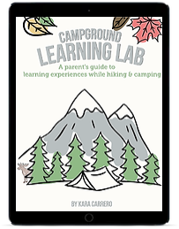 Campground Learning Lab ipad
