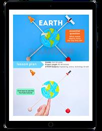 Earth Balancers ipad