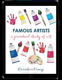Famous Artists ipad