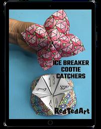 Ice Breaker Cootie Catchers ipad