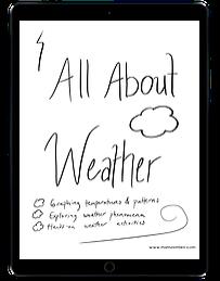 Investigating Weather ipad
