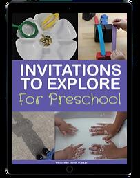 Invitations to Explore for Preschool ipad