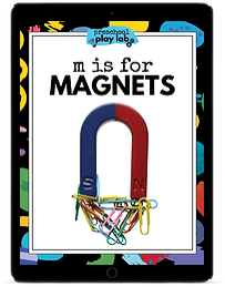 M is for Magnets ipad