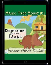 Magic Treehouse Dinosaurs before dark ipad