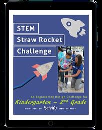 STEM Straw Rocket Challenge ipad