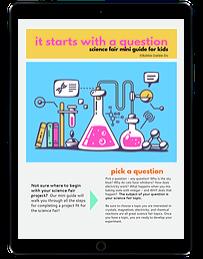 Science Fair Mini Guide ipad